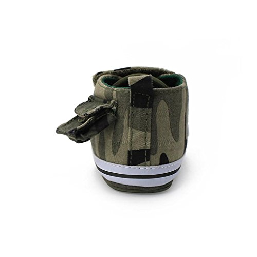IGEMY Nouveau-né Toddler Baby Infant Boys Girls Camouflag Chaussures antidérapantes Canvas Sneakers camouflage