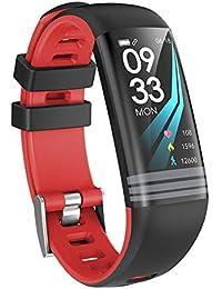 termómetro con pulsera inteligente impermeable Fitness Tracker presión sanguínea seguimiento La frecuencia cardíaca seguimiento de la