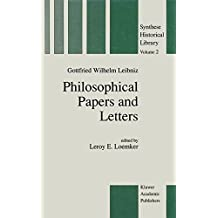 Philosophical Papers and Letters: A Selection (Synthese Historical Library 2)