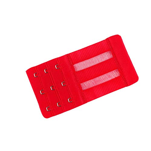 Barlingrock Unterwäsche Verlängerungsschnalle Lady 3 Row 3 Haken Verstellbarer Unterwäsche-BH-Bügel Verlängerungsschnalle Haken Damen Weiche Komfortable BH-Haken Extender Strap Einstellbare Verlänge