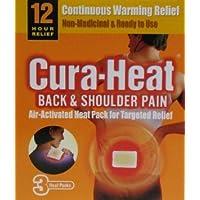 Cura Wärme Therapeutische Ersatz für Rücken, Schulter und Nacken-3EA preisvergleich bei billige-tabletten.eu