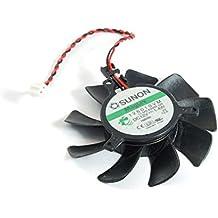 SUNON 2-pin 55mm Lüfter Cooler DC12V 1.4W ATI Video Card Cooling Fan 126010VM (Zertifiziert und Generalüberholt)
