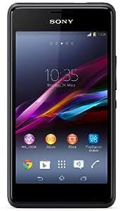 Sony Xperia E1Smartphone (10,16cm (4pouces) Écran TFT, 1,2GHz, Dual Core, appareil photo 3Mpx, Android 4.3Noir
