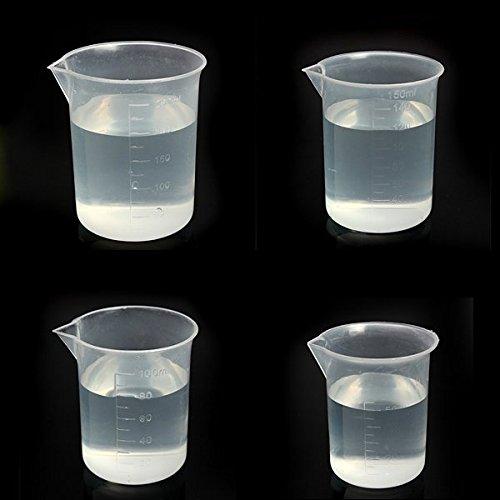 Bluelover Laboratory Küche Test Kunststoffbecher Messbecher 150ml