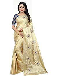 Ecolors Fab Paper Silk Sarees With Jacquard Blouse Piece(Paper_silk_Kuvari_women Saree)