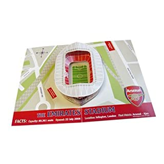 Arsenal F.C. Pop-Up Birthday Card