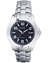 Citizen Herren-Armbanduhr Analog Quarz Edelstahl BM6630-51F