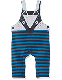 Tom Tailor Striped Felpa Dungarees, Salopette Bébé Garçon