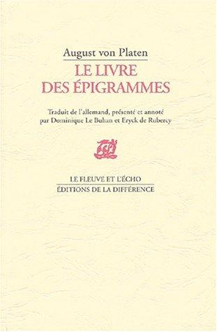 Le Livre des épigrammes