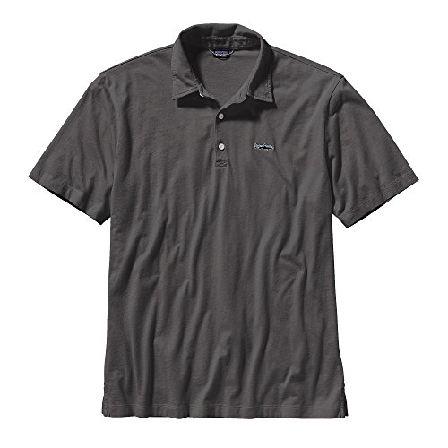 Patagonia Trout Fitz Roy Polo Shirt Men - Poloshirt - Patagonia Herren Polo-shirt