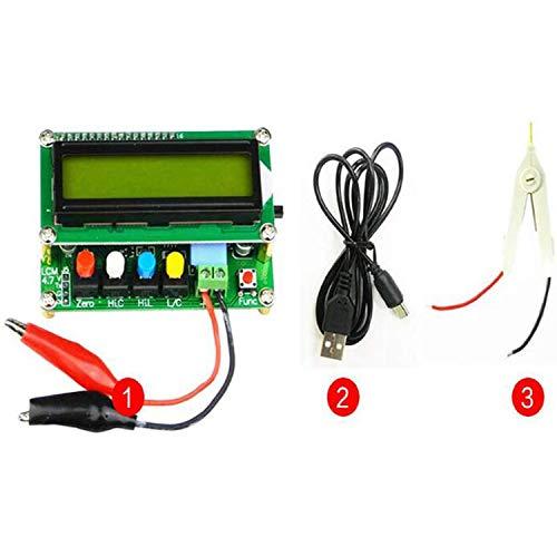 QPX Misuratore di induttanza del misuratore di capacità digitale digitale ad alta precisione + Clip di prova