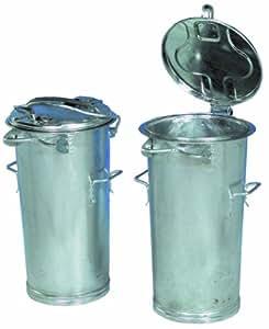 system poubelle 50l poubelle avec arceau en acier galvanis bricolage. Black Bedroom Furniture Sets. Home Design Ideas