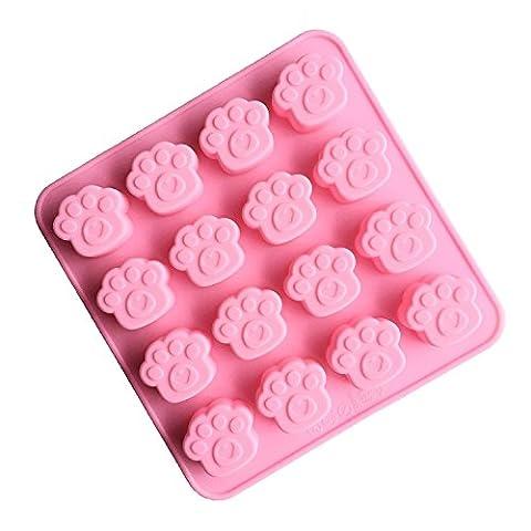 Lugii Cube en silicone Candy Chocolat et de savon Moules–Moule Pan Liner Utilisation pour glaçons, Homemade Savon, Chocolat, gélatine, Madeleine, bonbons, gâteaux. Lot de 1- (Ad143)
