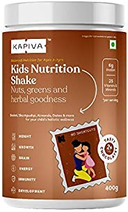 Kapiva Kids Nutrition Shake | For Ages 2-7 Years | Clean Ingredients & Pure Ayurvedic Herbs | Supports Gro