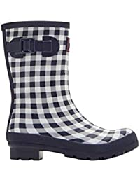 Joules Printed Molly Ladies Horse Riding Waterproof Rain Yard Walk Welly Boots