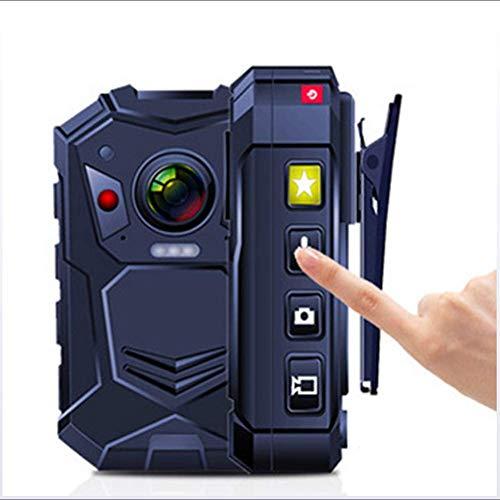 Lmzyy Polizei Körper Kamera Strafverfolgung 1296P HD 2 Zoll Anzeige Nachtsicht Gebaut 16G / 32G Erinnerung Und GPS, 16G -
