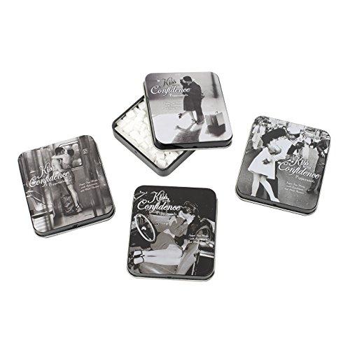 Spencer und Fleetwood Kiss mit Vertrauen Münzen in 4Designs, 4Stück -
