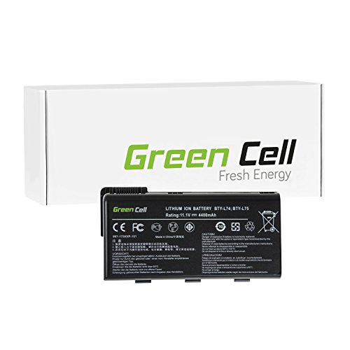 Green Cell® Standard Serie Batteria per Portatile MSI CX500-414 (6 Pile 4400mAh 11.1V Nero)