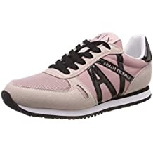 ARMANI EXCHANGE Microfiber Lace Up Sneaker ce1fde09610