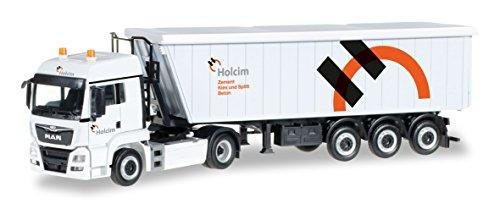 Herpa 306171 - Man TGS LX Euro 6 Kempf stöffel Liner holcim ch, véhicule