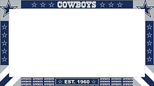 Imperial Offiziell Lizenziertes NFL Merchandise: Big Game Monitor Rahmen, Unisex, Dallas Cowboys Big Game Monitor Frame, Mehrfarbig, Einheitsgröße (Dallas Cowboy Dekor)