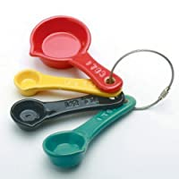 Mulit-colored Measuring Spoons