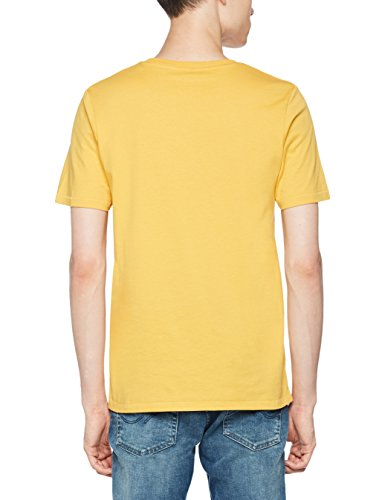JACK & JONES Herren T-Shirt Jorstencild Tee SS Crew Neck Gelb (Ochre Fit