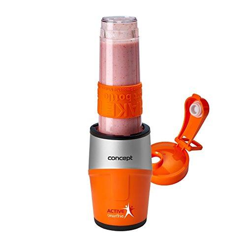 Concept Hausgerte Sm3380 Smoothie Maker Active Smoothie Mit 3 Trinkflaschen 057 L 500 W