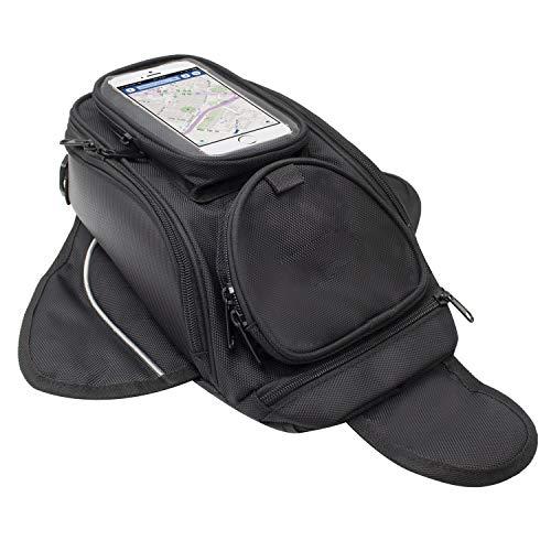 Motociclo Borse serbatoio - Oxford borsa impermeabile con sacco nero per motocicletta - Borsa magnetica forte per Honda Yamaha Suzuki Kawasaki Harley - Dracarys