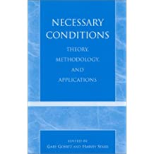 Necessary Conditions: Theory, Methodology and Applications