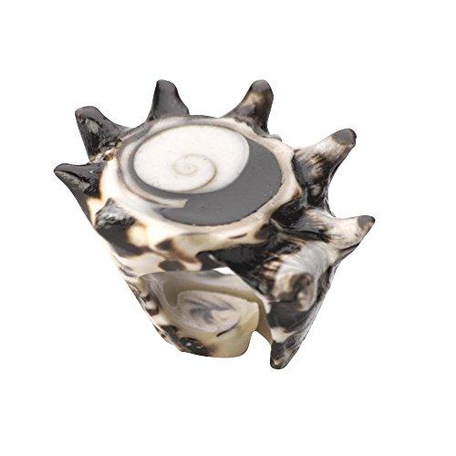 Für Verkauf Elf Kostüm - 81stgeneration Weiß braune Schale Spirale Shiva Augenring