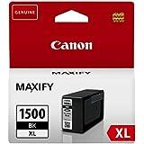 Canon PGI-1500XL BK - Cartuchos de tóner, color negro