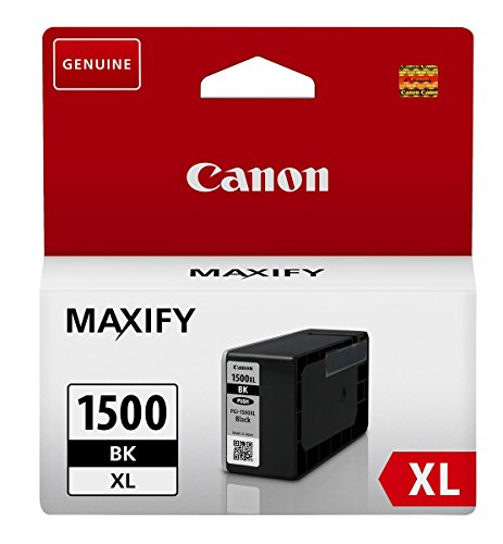 Canon 4549292003772 Druckerpatrone PGI-1500XL BK, schwarz