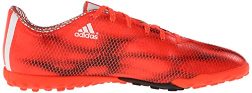 Adidas Performance F10 Turf Football Taquet, solaire Rouge / blanc / core noir, 7 M Us Solar Red/White/Core Black