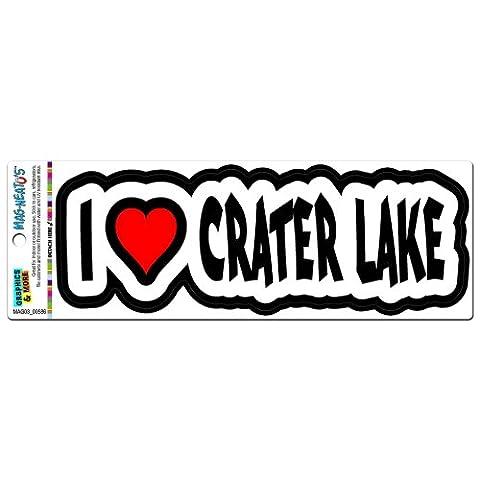 I Love Heart Crater Lake - Oregon MAG-NEATO'S(TM) Automotive Car