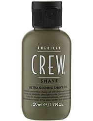 American Crew - Huile de Rasage - Prévention Anti-Irritation pour un Rasage en Douceur - 50ml