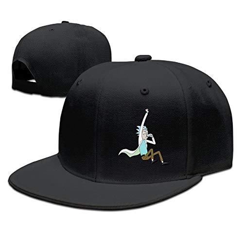 Youaini POY-SAIN Rick and Morty Poster Baseball Hat Cap for Adult Black -