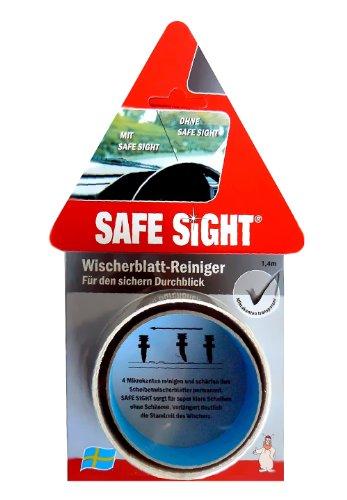"""Preisvergleich Produktbild Scheibenwischerreparatur """"Safe Sight"""". 4 Mikrokanten zum Reinigen und schonendem Schärfen der Wischerblätter."""