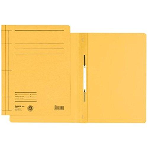 Preisvergleich Produktbild Leitz Schnellhefter DIN A4, Karton, gelb 3000-15