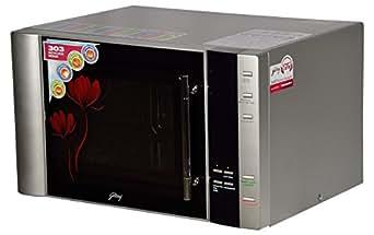 Godrej 30 L Convection Microwave Oven (InstaCook GMX 30 CA1 SIM, Silver)