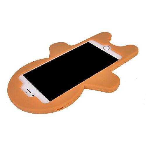 iPhone 7 Plus Coque,COOLKE Mode 3D Style Cartoon Gel Soft silicone Coque Housse étui Case Cover Pour Apple iPhone 7 Plus (5.5 inches) - 009 001
