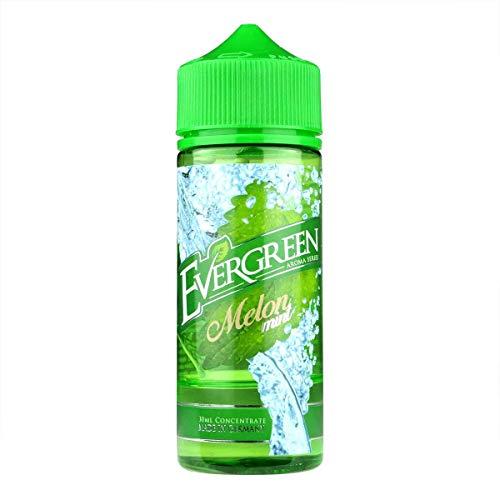 Evergreen Aromakonzentrat Melon Mint, Shake-and-Vape zum Mischen mit Basisliquid für e-Liquid, 0.0 mg Nikotin, 30 ml
