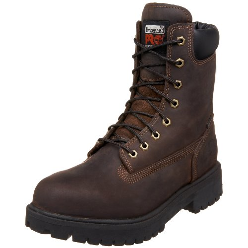 Mens Timberland Attribuiscono Impermeabile Direct Marrone Marrone Scuro 10 Workboot 8 M Pro rrUwqtd