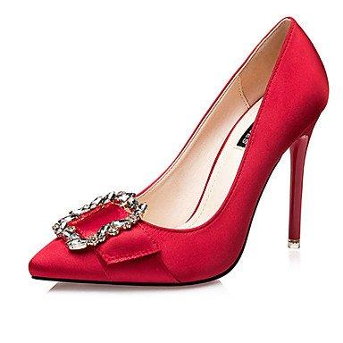 Moda Donna Sandali Sexy donna estate tacchi tacchi Casual di seta Stiletto Heel Bowknot nero / rosso / grigio / Oro Altri golden