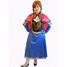 Anna vestido inspirado (Alta Calidad/Cosplay) Adulto - L