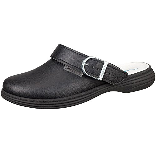 Abeba , Herren Sicherheitsschuhe Schwarz schwarz 41 Schwarz