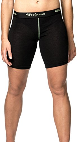 Woolpower Brief XLong Womens Lite, L, Black