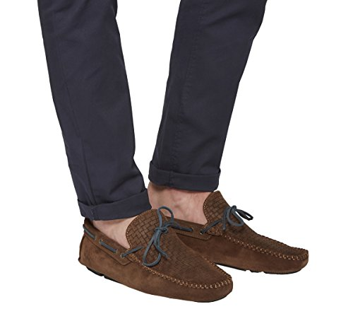 Ask The Missus, Sneaker uomo Brown Suede