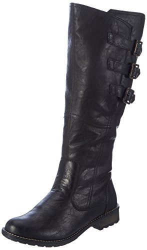 Remonte Remonte, Womens Boots, Black (01), 7.5 UK