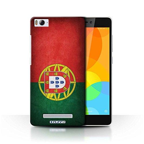 Stuff4® Hülle/Case für Xiaomi Mi 4i / Portugal/Portugiesische Muster/Flagge Kollektion